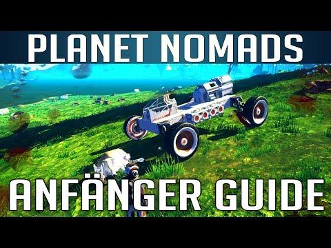 PLANET NOMADS [Erste Schritte - Anfänger Guide] [S02] Let's Play Gameplay Deutsch