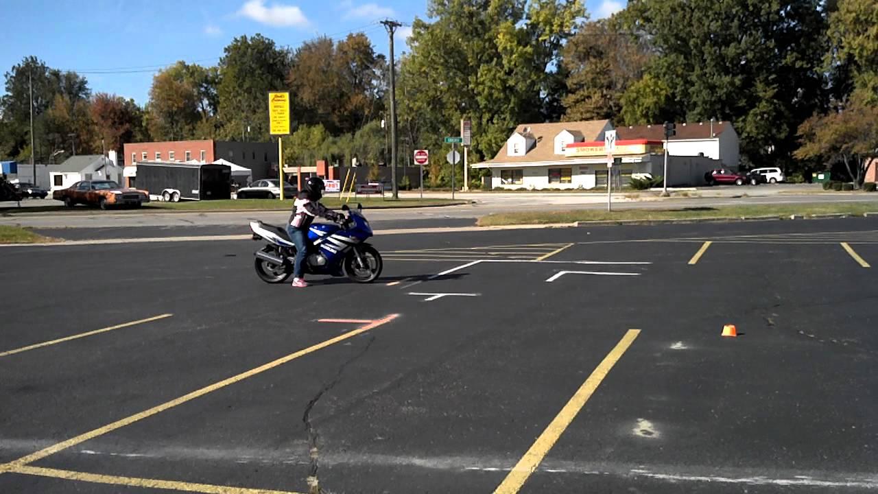 Ohio Bmv Motorcycle Skills Test Course Layout