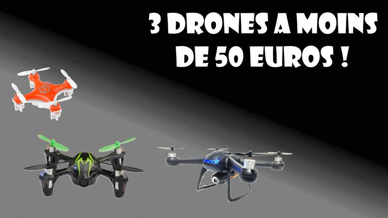 3 drones moins de 50 euros youtube. Black Bedroom Furniture Sets. Home Design Ideas