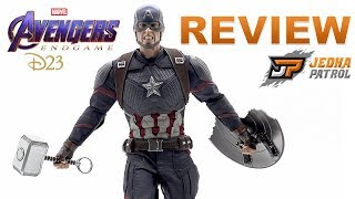 Hot Toys EndGame Captain America D23 Exclusive | REVIEW