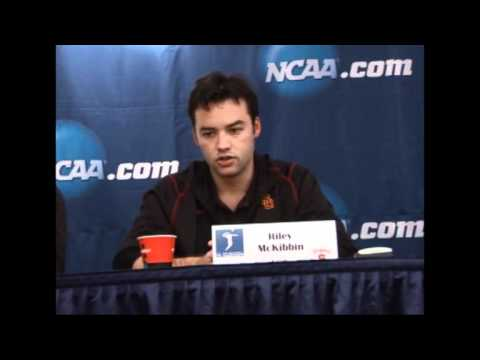 USC Volleyball All American Riley McKibbin on an NCAA Title