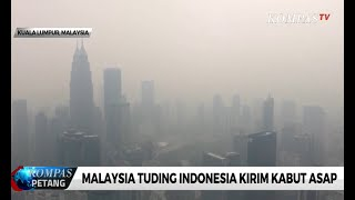 Malaysia Tuding Indonesia Kirim Kabut Asap