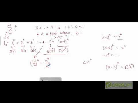 Problem: Summation in Theta Notation