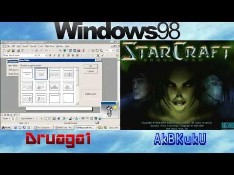 "Trying to Patch Starcraft on Win98 (""Raw"" Stream Segment)"