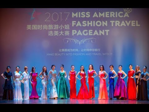 2017 Miss America Fashion Travel Pageant——Final Show
