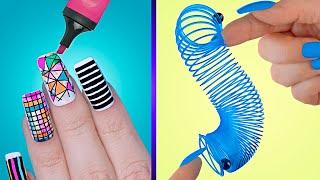 9 ابتكارات ضوافر غريبة / فن ضوافر ضد التوتر