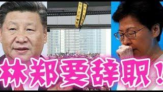 林鄭月娥準備辭職!特朗普要求中共下台!香港實行普選!