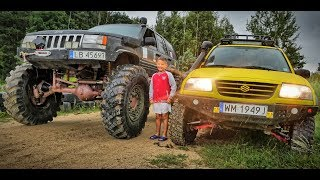 MONSTER JEEP ZJ W Terenwizji