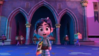 Vanellope visits the Disney website | Wreck-It-Ralph 2