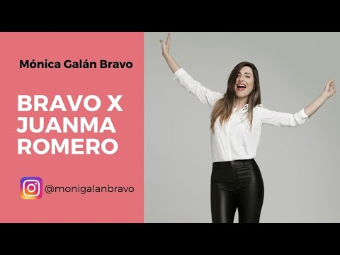 BRAVO x Juanma Romero, conferenciante, speaker y presentador del programa Emprende de RTVE