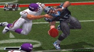 NFL Blitz 2002 - Minnesota Vikings vs Carolina Panthers - 2nd Qrt - PlayStation 2 - HD