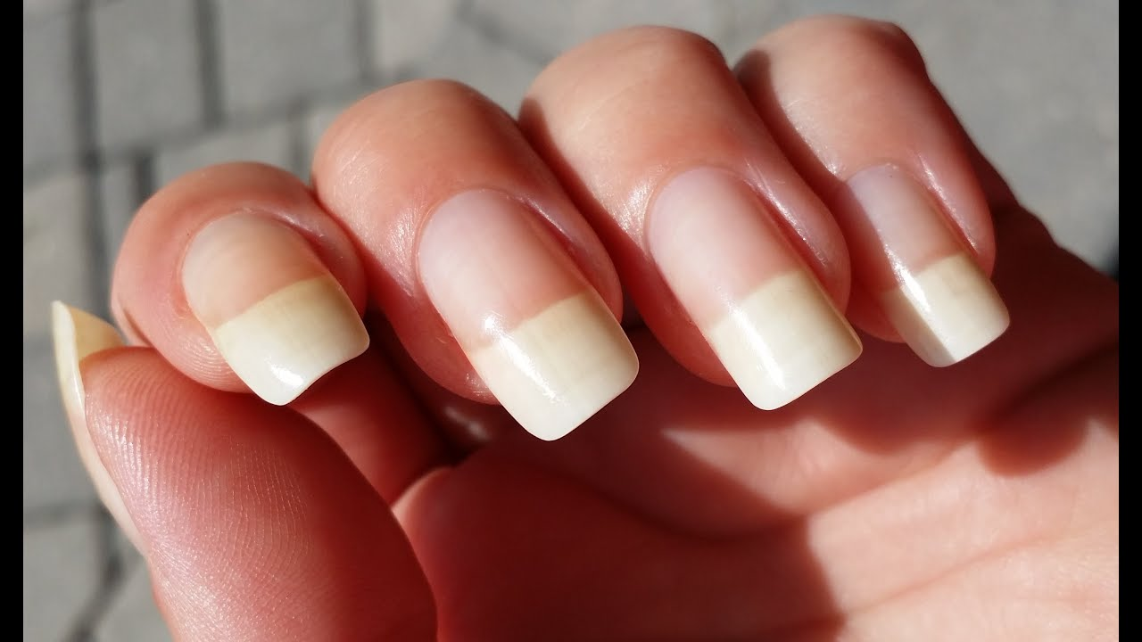 From Short Nails To Long Natural Nails In 60 Days | Nail Growth ...
