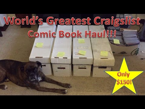 World's Greatest Craigslist Comic Book Haul!