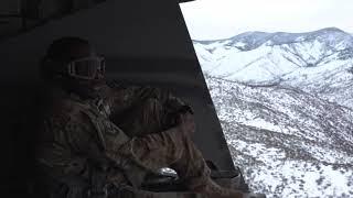 MC-130J Low Level Mountain Flying