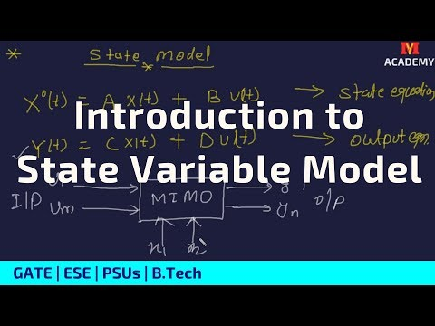 State Variable Analysis In Control system | Myacademy