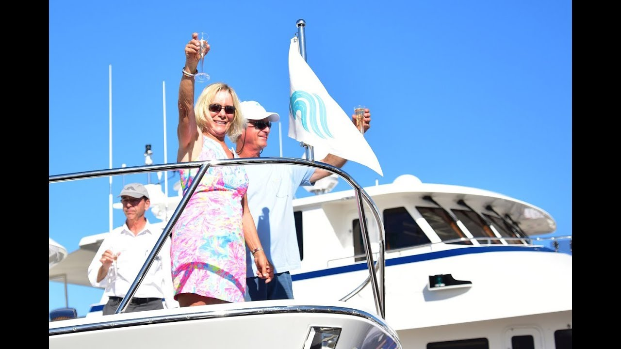 Outer Reef 610 Motoryacht Christening