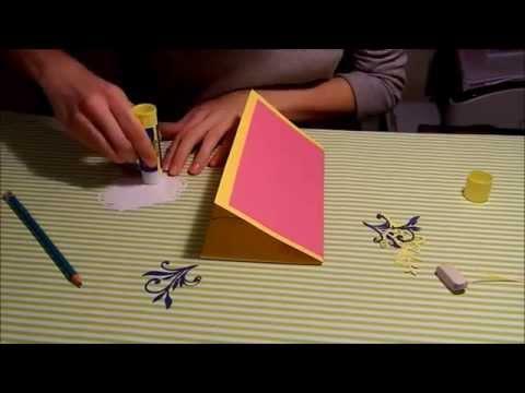 видео: Веселая поздравительная открытка своими руками