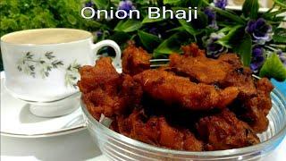 Onion Bhaji lll Onion Pakoda Recipe lll Bhaji Recipe lll