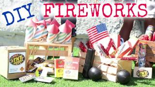 DIY American Girl Doll Fireworks(, 2016-07-03T02:23:35.000Z)