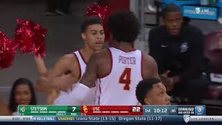 Men's Basketball: USC 95, Stetson 59 - Highlights 11/14/18