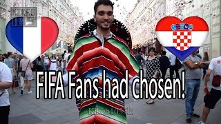 Croatia vs France Fans Poll