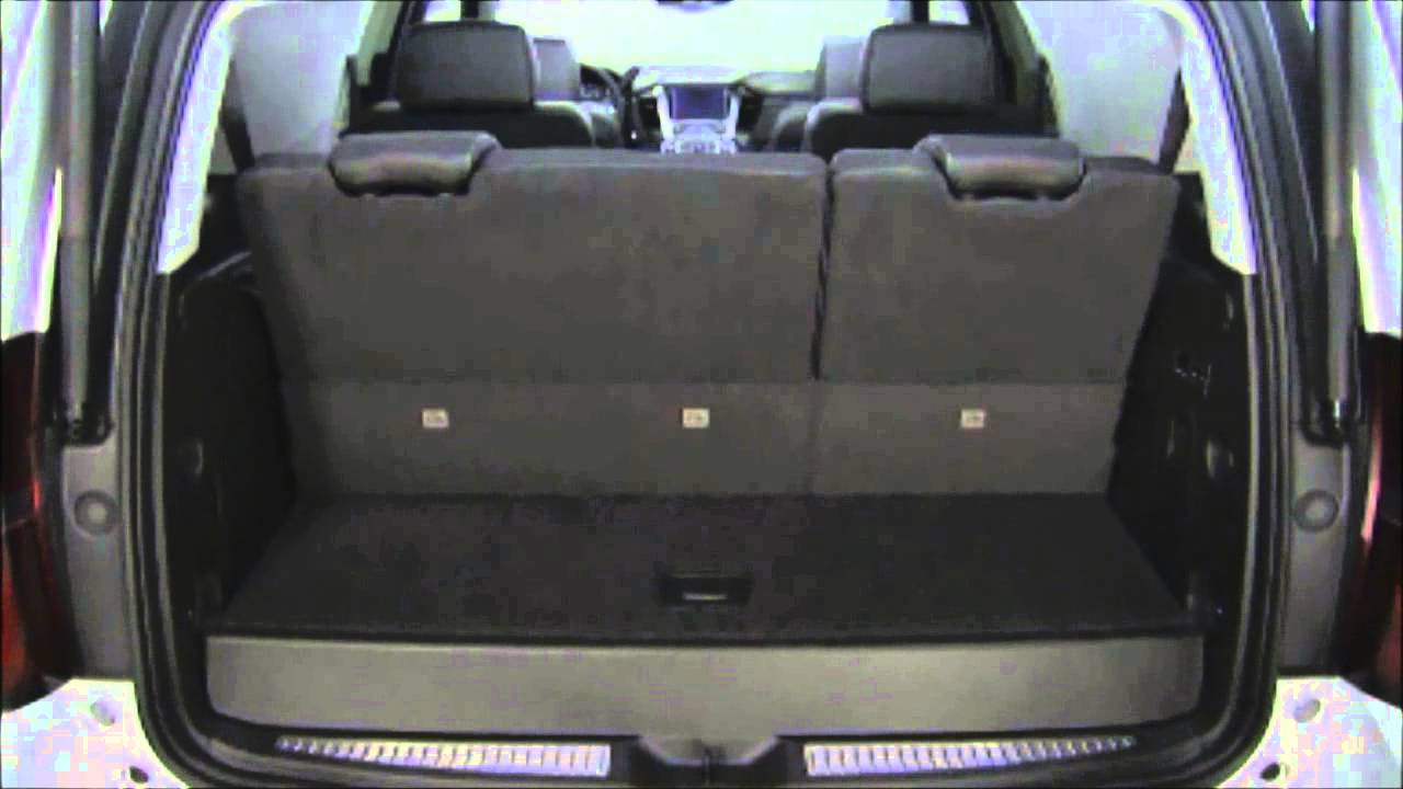 GraffGuru- 2015 Chevy Tahoe Fold Flat Seats - YouTube