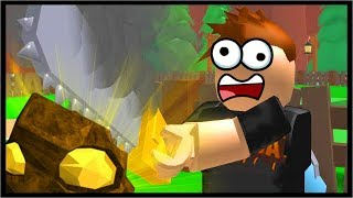 MINING ALL THE GOLD IN ROBLOX!! | Roblox Mining Simulator