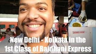 First AC in Rajdhani - my full Experience - there
