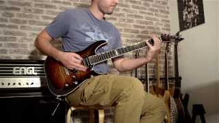 Firewind - Between Heaven and Hell solo (cover)