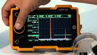 Ультразвуковой дефектоскоп USM GO(Новые глубины контроля. Новинка от компании GE Sensing & Inspection Technologies максимально упростит работу оператора...., 2011-12-08T13:48:49.000Z)