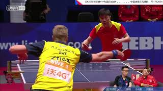[20180505] Live TV LIU Guoliang | MA Long vs KARLSSON Mattias | MT-SFM1 | 2018 WTTTC | Full Match