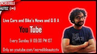 Jaydee Live | #askjaydee | News and QA | Car launches | Yaris 5 star safety | KIA | CIVIC | Amaze thumbnail