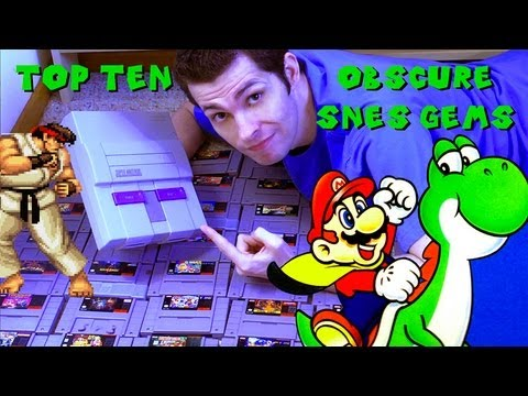 Top 10 Obscure SNES Gems by Mike Matei Super Nintendo