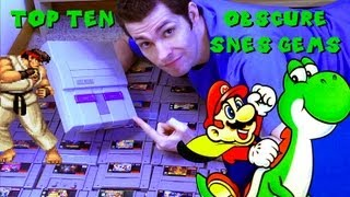 Top 10 Obscure SNES Gems by Mike Matei Super Nintendo thumbnail