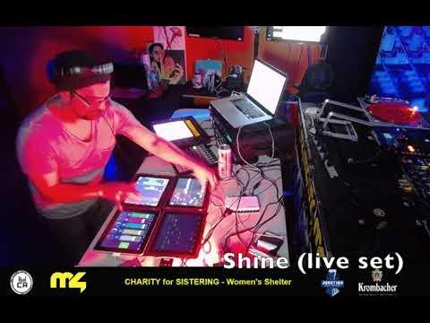 DJ Shine @ Marathon 4 - Charity for Sistering - Women's Shelter