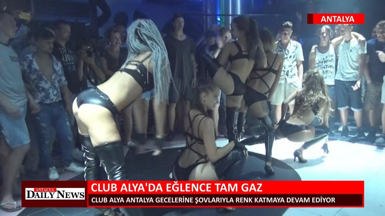 CLUB ALYA DA EĞLENCE TAM GAZ