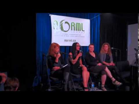 Women's discussion panel guests of NORML Canada