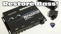 Restore your Bass! AudioControl's Epicenter Bass Restoration Processor