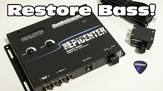 Download Video Restore your Bass! AudioControl's Epicenter Bass Restoration Processor MP3 3GP MP4