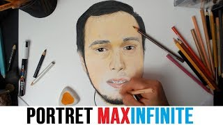 I-am facut portret lui MaxINFINITE - Desenu&#39 Lu&#39 Nebunu