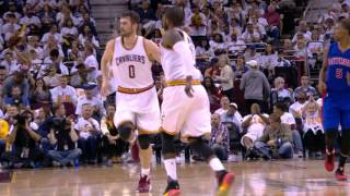 Big 3 Guide Cavaliers to Game 1 Victory