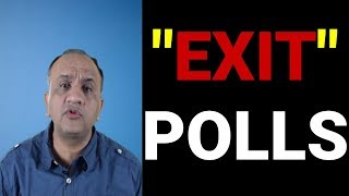 🔴🔴 Exit Polls India 2019 - Impact on Stock Market | Live Q&A with Nitin Bhatia (HINDI)