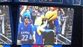 KU Basketball Harlem Shake live at Allen Fieldhouse thumbnail
