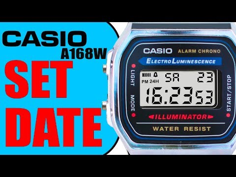 Casio f 201wa 1a hands on doovi for Pro trek abc watch prw 3100t
