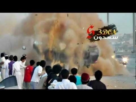 Arabic drift crashes - YouTube