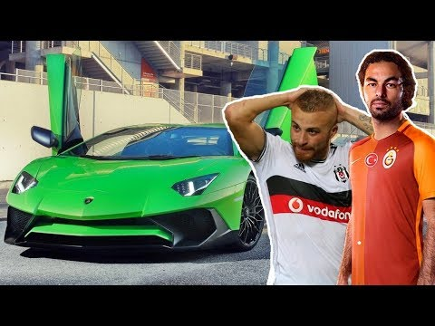 Türk Futbolcular'ın Muhteşem Arabaları
