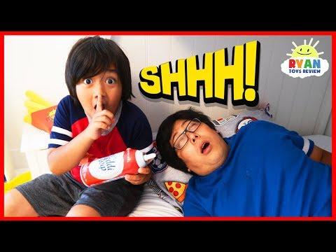 Don&39;t Wake Daddy Challenge IRL Nickelodeon Edition