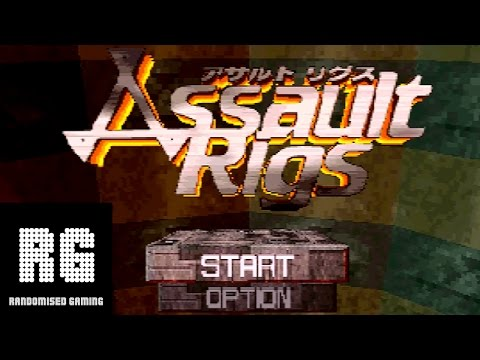 Assault Rigs - Sega Saturn - Intro & Gameplay [720p 60fps]