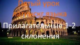Пятый урок латинского. Прилагательные 1-2 склонений.avi