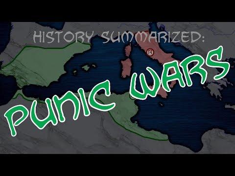 History Summarized: The Punic Wars